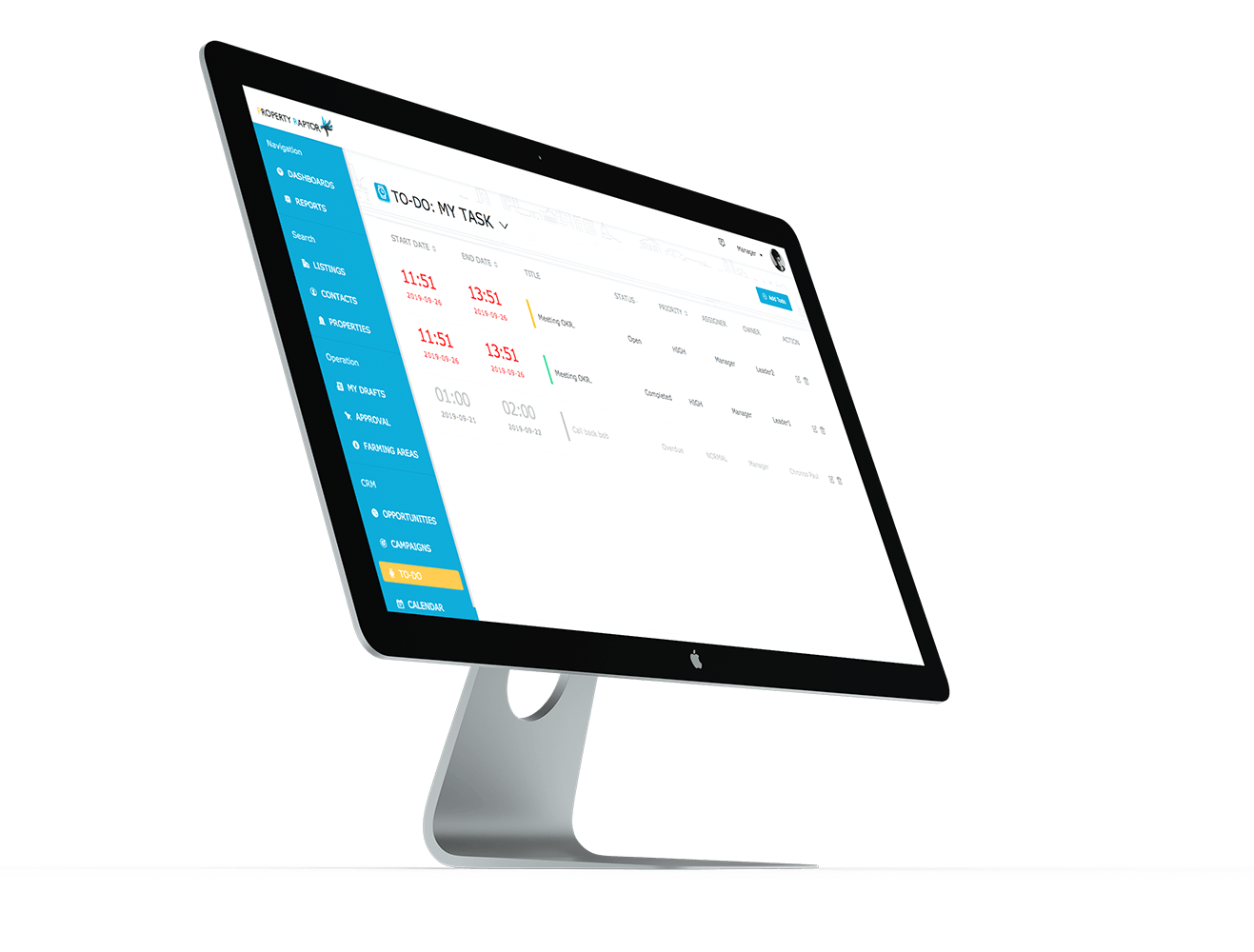 For Agencies - Property Raptor Software Interface